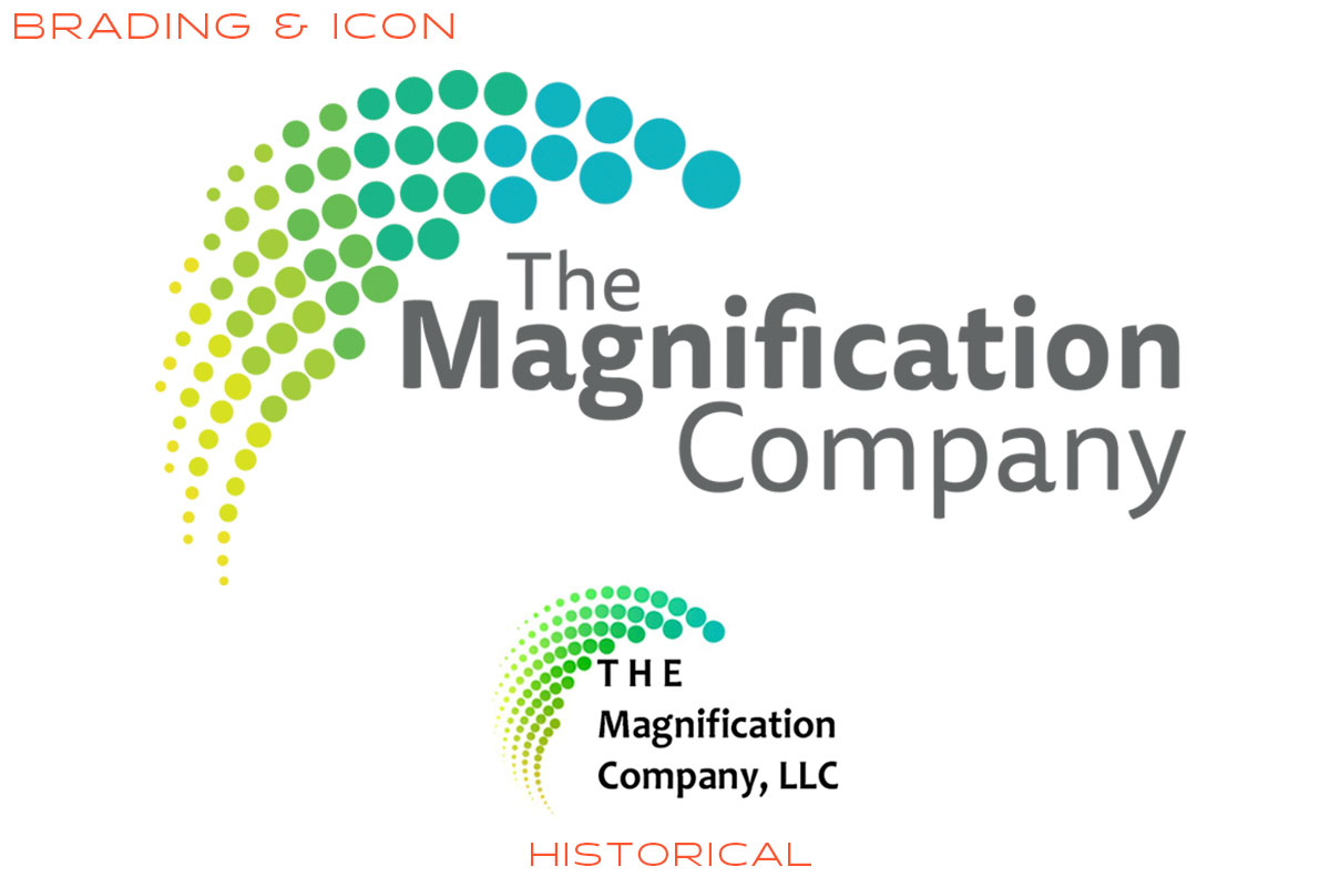 The Magnification Company Logo Design & Branding